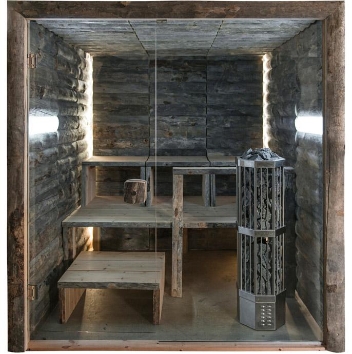 Uhtua Design - Kelo-sauna
